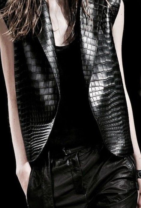 Beautiful Fashion Details…Helmut Lang