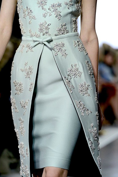 Beautiful Fashion Details…Giambattista Valli