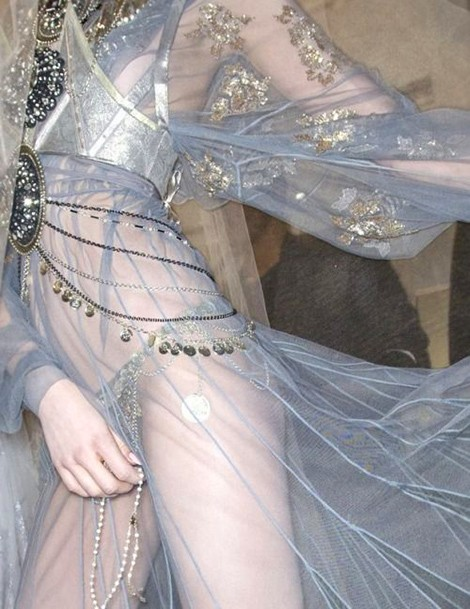 Beautiful Fashion Details…John Galliano