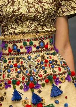 Beautiful Fashion Details…Dolce & Gabbana