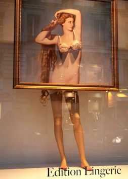 I saw it in the Window…Edition Lingerie