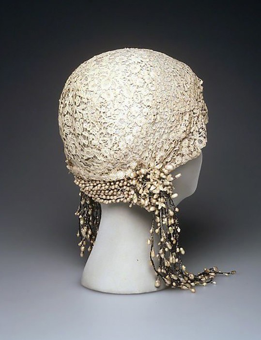 Wedding Cloche, France, ca. 1932