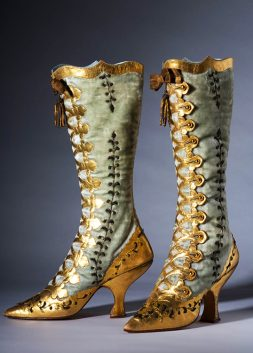 Party Boots, ca. 1870