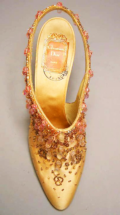 Evening Shoes by Roger Vivier, ca. 1954
