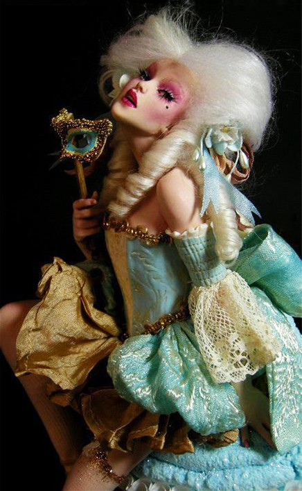 Doll Art by Nicole West
