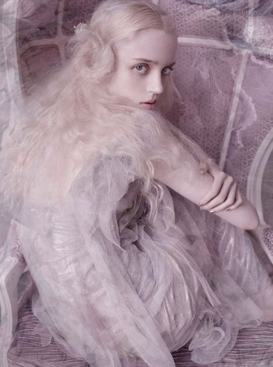 Esmeralda Seay-Reynolds by Mario Testino