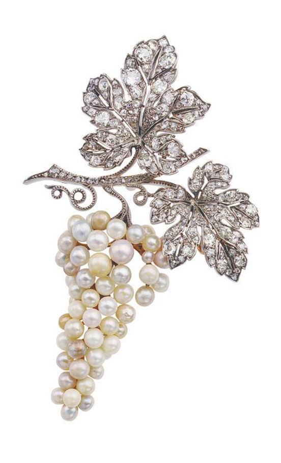 Pearl and Diamond Brooch, Van Cleef & Arpels, ca. 1915
