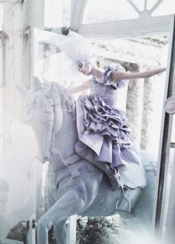 Olga Sherer in 'A Magic World' by Tim Walker