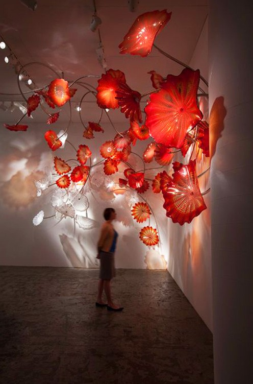 Glass Installation by Dale Chihuly