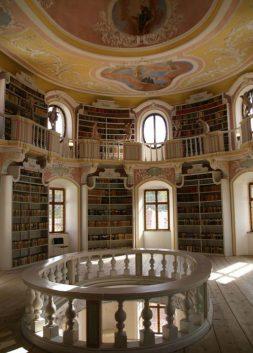 Library in Füssen, Germany