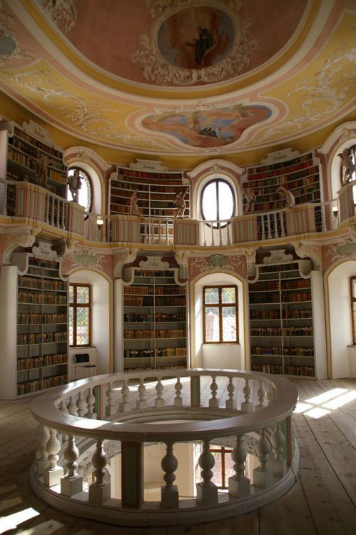 Library in Füssen, Germany