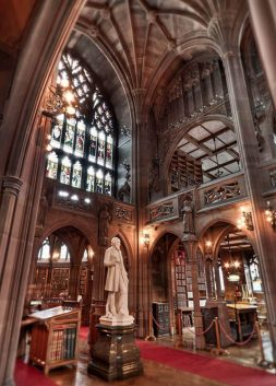 John Rylands Library in Manchester, England