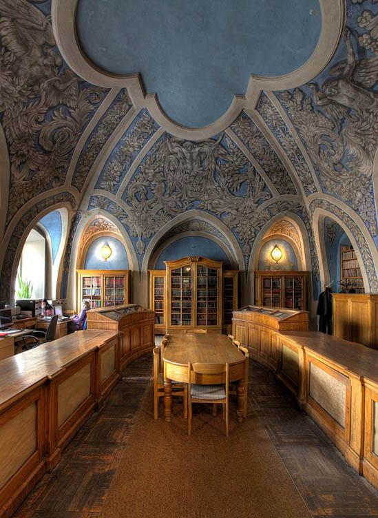 Vilnius University Library, Vilnius Old City, Lithuania