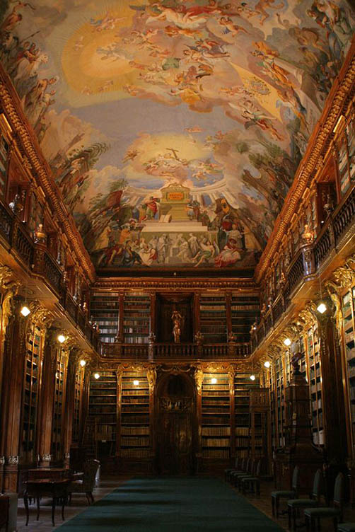 Strahov Monastery Library, Prague, Czech Republic