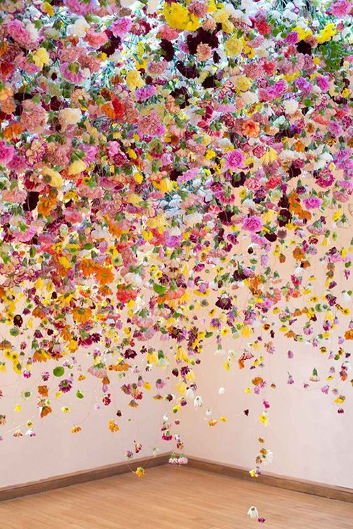 Floral Installation by Rebecca Louise Law