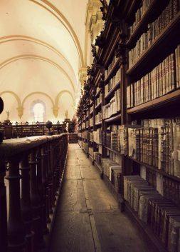 Ancient Library, University of Salamanca, Spain
