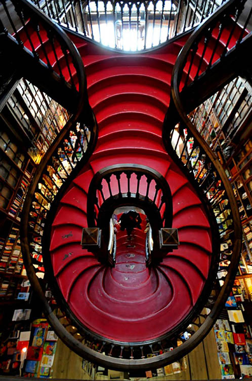 Lello Bookstore, Oporto, Portugal