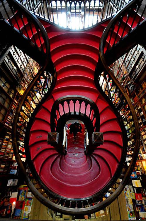 Lello Bookstore, Oporto, Portugal