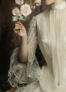 Un élégant bouquet, detail