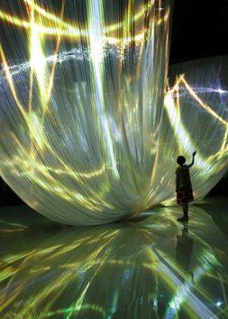 Light Art Installation by Nobuhiro Shimura