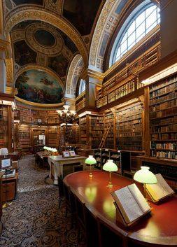 Bibliothèque Assemblée Nationale, Paris, France