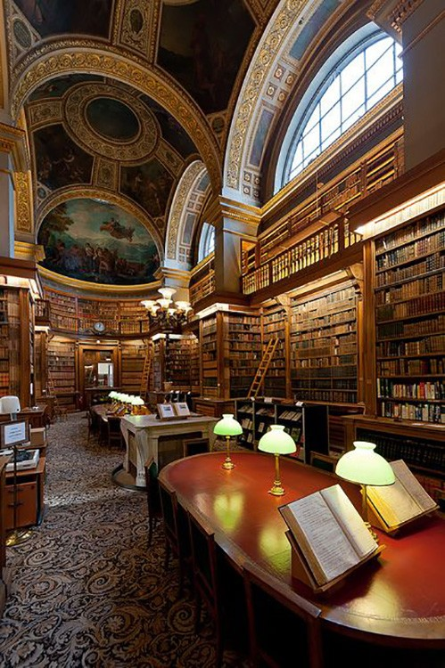 Bibliothèque Assemblée Nationale, Paris, France