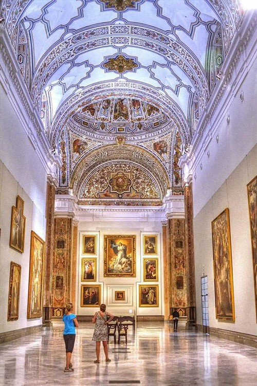 Fine Art Museum, Seville, Spain