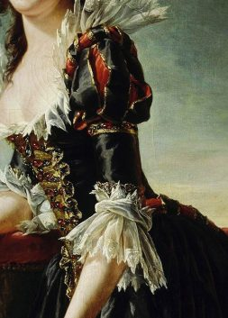 Madame Louise-Elisabeth with her Two-Year old Son, detail