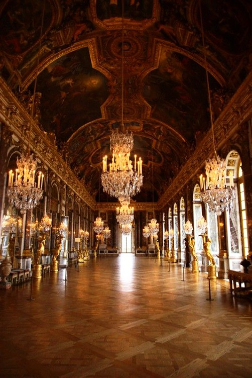 Hall of Mirrors, Chateau de Versailles, Versailles, France