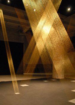 Ttéia Installation by Lygia Pape