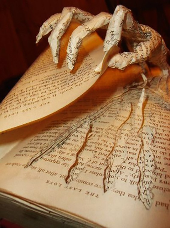 Book Sculptures by Thomas Wightman