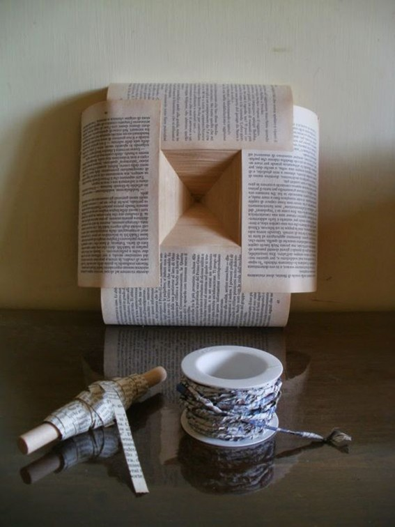Book Sculptures by Clara Maffei