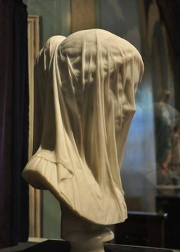 The Veiled Virgin by Giovanni Strazza