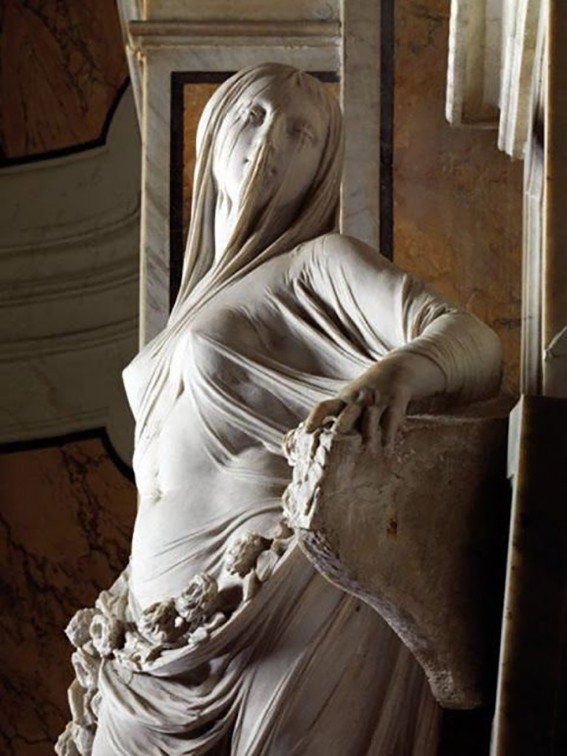The Veiled Truth (Modesty – La Pudicizia) by Antonio Corradini
