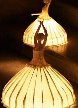 Ballerina Lamps by Papier à êtres