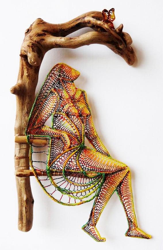 Lace & Wood by Ágnes Herczeg