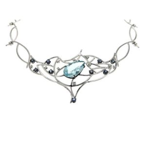 Amazing Drop Aquamarine Air Necklace