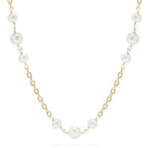 Effy 14K Yellow Gold Pearl 18 Necklace