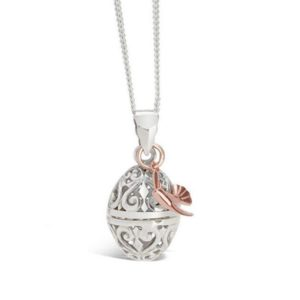 Rose Gold Bird Locket