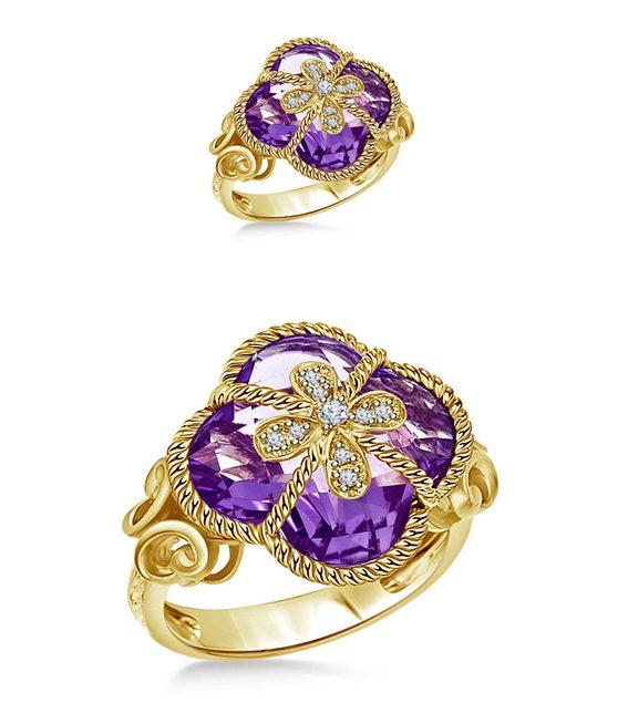 Gemstone Rings by B2C Jewels