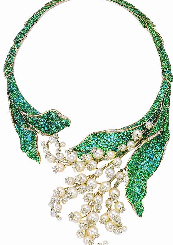 'Lilt of the valley' Necklace, by Victoire de Castellane, Dior, 1999