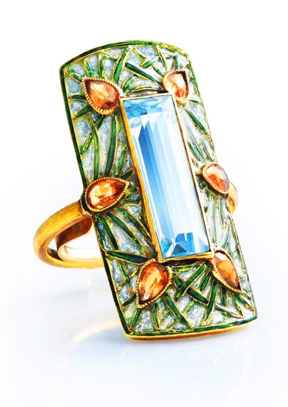 Jewelry Art by Georges Fouquet (1862 – 1957)