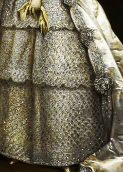 Lady Frances Montagu, detail