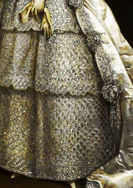 Lady Frances Montagu, detail