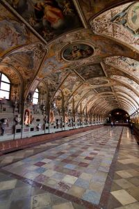 The Antiquarium in the Residenz in Munich, Germany