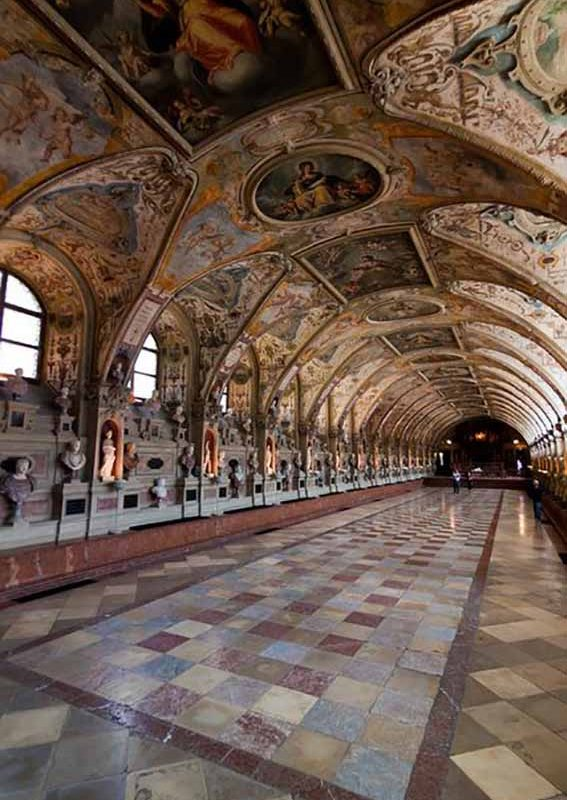 The Antiquarium in the Residenz in Munich, Germany