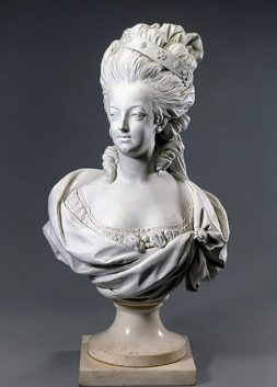 Bust of Marie Antoinette by Louis-Simon Boizot