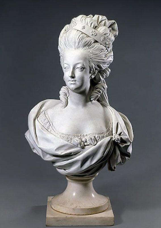 Bust of Marie Antoinette by Louis-Simon Boizot