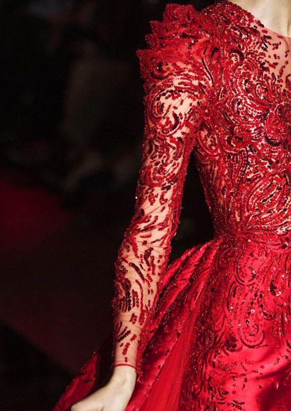 Beautiful Fashion Details…Zuhair Murad
