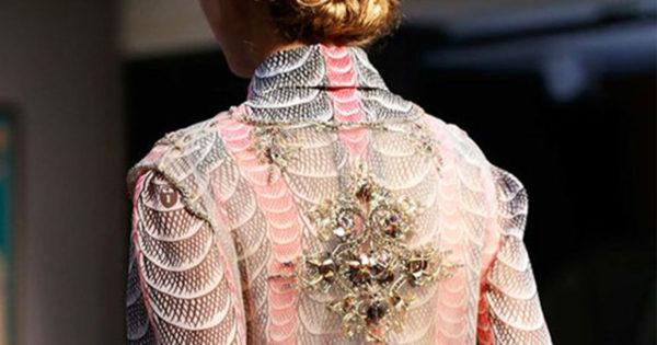 Beautiful Fashion Details…Schiaparelli